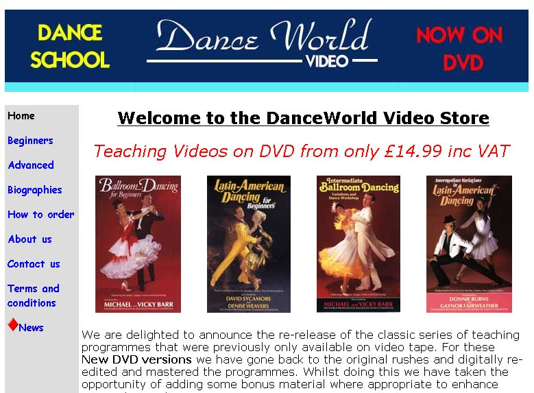 danceworld image
